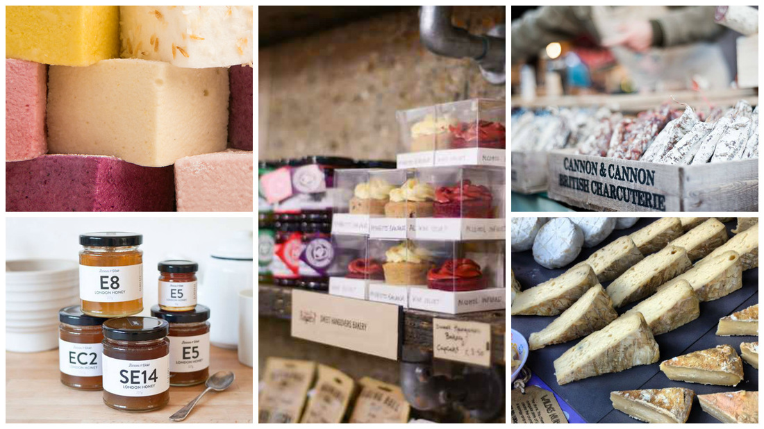 Where do London food producers eat?